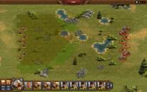 Tropas numa batalha estratégica